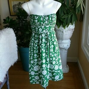 Ruby Rox green and white floral dress size 5